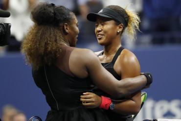 Us Open: Osaka dio el golpe ante Serena Williams en una final escandalosa
