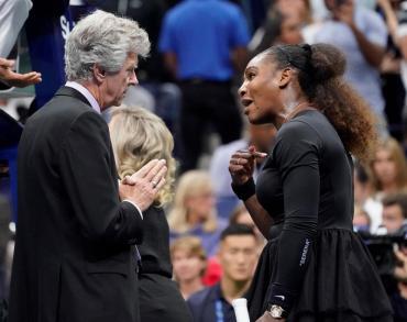 US Open: la feroz discusión de Serena Williams con el umpire que terminó en escándalo