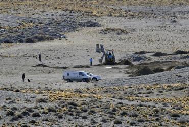 En busca de dinero enterrado, nuevas excavaciones en propiedad de Lázaro Báez
