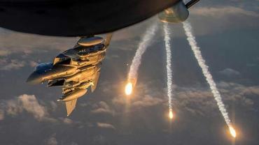 Dos cazas de Estados Unidos lanzaron feroz ataque con bombas de fósforo en Siria