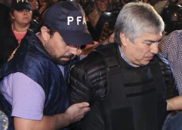 Lázaro Báez pasó la noche en el Penal de Ezeiza tras no poder ingresar al country de Pilar