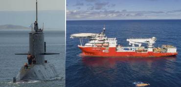 Submarino ARA San Juan: descartaron 13 contactos y centran búsqueda en área 5