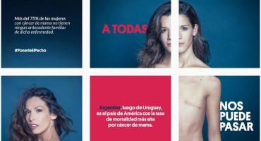 Famosas se desnudaron contra el cáncer de mama