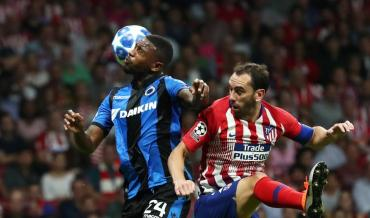 Champions League: Atlético Madrid le ganó al Club Brujas