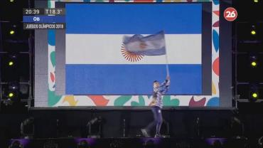 Dante Cittadini, el abanderado argentino en los Juegos Olímpicos de la Juventud