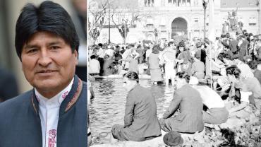 Día de la Lealtad peronista: Evo Morales envió su saludo