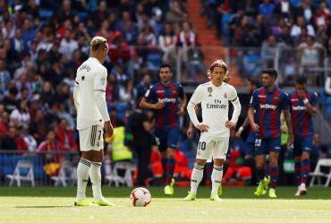 La Liga de España: Real Madrid no repunta y perdió con Levante