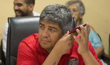 Pablo Moyano, complicado por escuchas en asociación ilícita con barras de Independiente