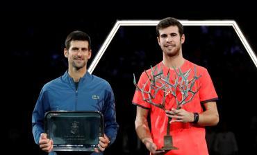Sorpresa total en Masters 1000 de París: Djokovic cayó ante Khachanov, pero es el Nº1