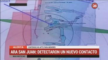 Detectaron un nuevo contacto en la búsqueda del Submarino ARA San Juan