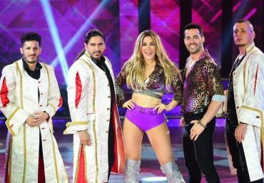 Bailando 2018: Jimena Barón sorprendió a todos con cumbia muy caliente junto a Ráfaga