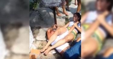 Video: ladrón intentó atacar a luchadora de jiu jitsu y terminó suplicando a gritos