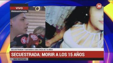 """Secuestro y muerte: """"La joven estaba amordazada y con un trapo en la cabeza"""""""