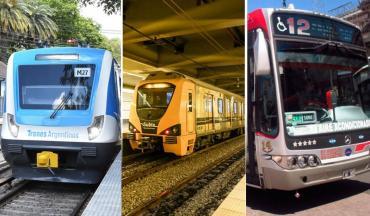 G20: así funcionarán los colectivos, subtes, trenes y aeropuertos