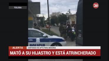 Horror en Tolosa: mató a su hijastro de 10 años y se atrincheró