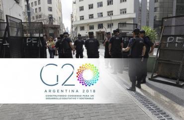 Cumbre del G20: todos los detalles del mega operativo de seguridad y zonas de protestas