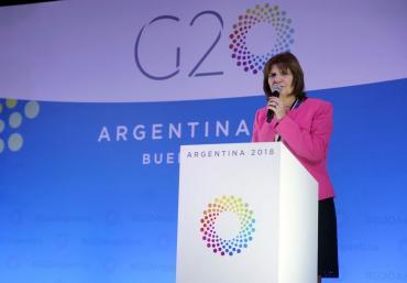 Bullrich, tras masiva marcha contra el G20: