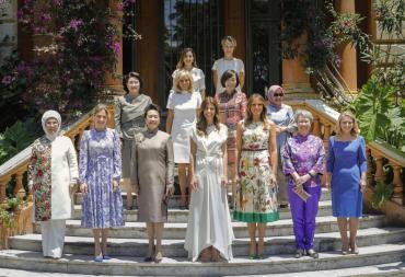 G20: las primeras damas se reunieron en Villa Ocampo con almuerzo de lujo