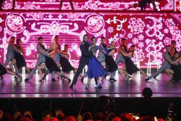 Mora Godoy brilló en la gala del G20