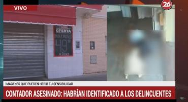 Contador asesinado: habrían identificado a los delincuentes