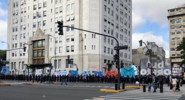 Organizaciones sociales levantaron acampe frente al Ministerio de Desarrollo Social