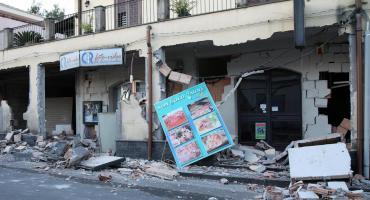 Italia: actividad de volcán Etna provocó terremoto de 4.8, al menos 10 heridos