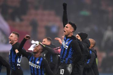 Lautaro Martínez se vistió de héroe: Inter le ganó al Nápoli por la Serie A