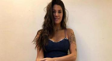 Ivana Nadal extraña la playa y la recordó con una sensual foto en Instagram