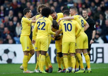 Premier League: Chelsea derrotó por la mínima a Crystal Palace y sigue en la pelea