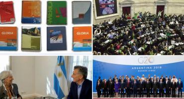 Del debate por aborto a los Cuadernos de Coimas K: los hechos políticos destacados en 2018