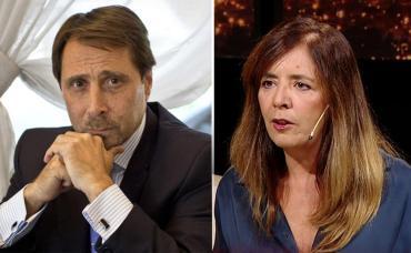 "Duro cruce de Eduardo Feinmann con Gabriela Cerruti: la llamó ""diputada marihuanera"""