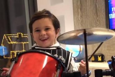 Video Instagram: Mateo Messi conquista con el rock and roll, baby