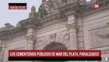 Mar del Plata: cementerios públicos paralizados por huelga de municipales
