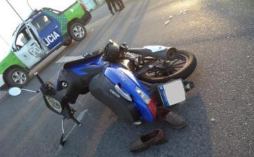 Mar del plata: motociclista de 82 años murió al ser atropellado