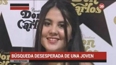 Desesperada búsqueda de Michelle, joven de 15 años desaparecida en Palermo