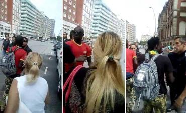 Mar del Plata: críticas a la municipalidad por venta ilegal y descontrol, incidentes con manteros