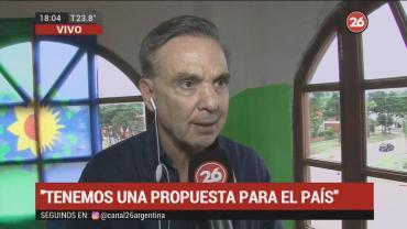 Miguel Ángel Pichetto en Mar de Ajó: