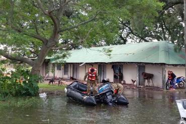 Dramática situación: ya son más de 5 mil los evacuados por la inundaciones