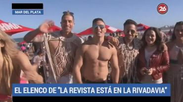 Mar del Plata: malabares, circo y elencos en la playa