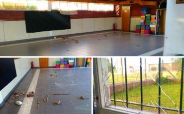 Mar del Plata: destrozan jardin de infantes y el municipio no le da ayuda