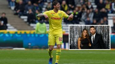 Fuerte apoyo de Messi y Antonela para que continúe la búsqueda de Emiliano Sala