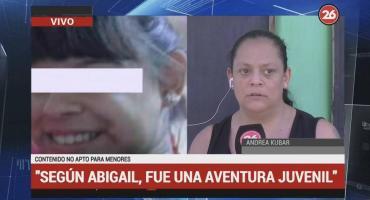 Hallaron sana y salva a Abigail, joven que estaba desaparecida en Lomas de Zamora