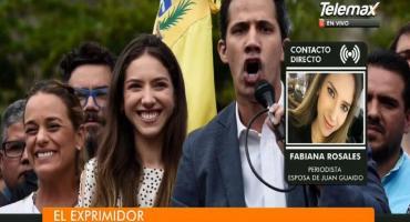Fabiana Rosales, esposa de Guaidó: