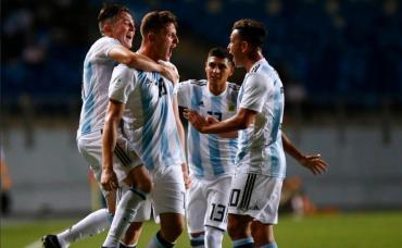 Sudamericano Sub 20: Argentina goleó a Venezuela en la gran noche de Gaich