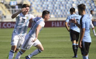 Sudamericano Sub 20: Argentina liquidó a Uruguay y clasificó al Mundial