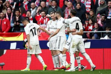 La Liga: Real Madrid venció al Atlético y quedó como escolta del Barcelona