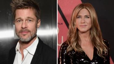 ¿Vuelven? sorpresiva aparición de Brad Pitt en cumpeaños de Jennifer Aniston