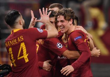 Champions League: Roma venció a Porto por la ida de los octavos de final
