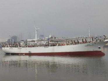Se hundió buque pesquero chino en Comodoro Rivadavia tras colisionar con otro español
