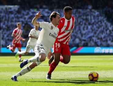 Girona lo dio vuelta y amargó al Real Madrid en el Bernabéu